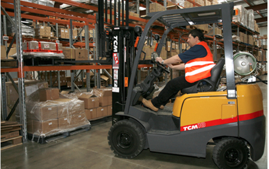 Fork Lift at Interior Images