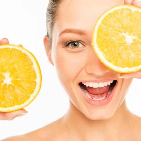 grapefruits on eyes squared