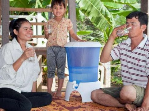 cambodia ceramic water filters project