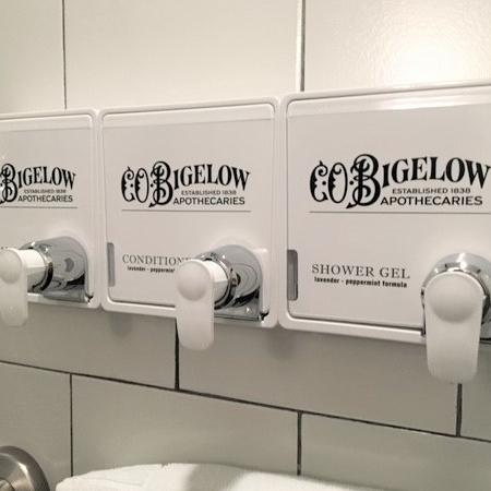 C.O. Bigelow mosaic dispenser system