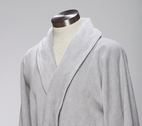 Frette Velour Customised grey robe