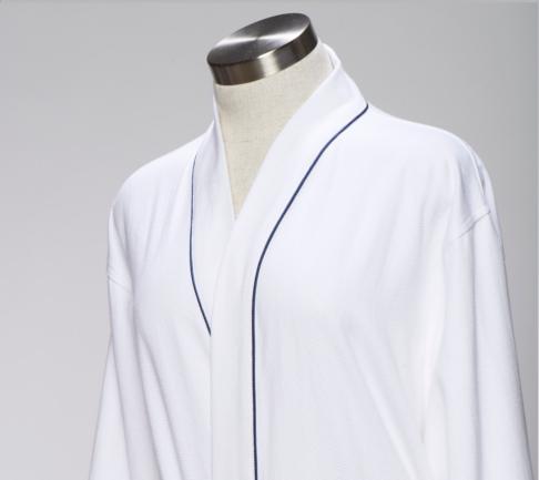 Micro-Weave Cotton robe
