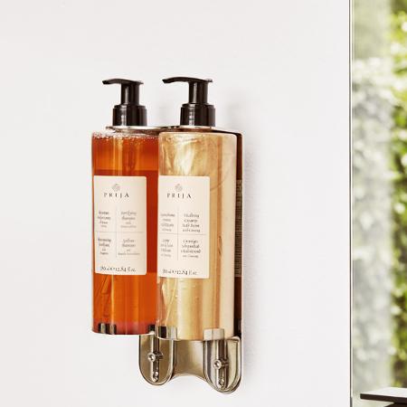 Prija double dispenser wall mounted