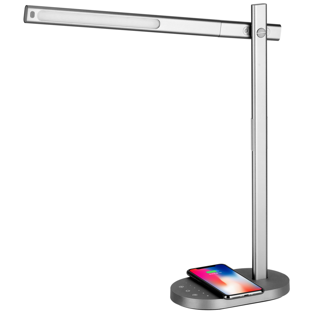 Momax QLED Desk Lamp with wireless charging