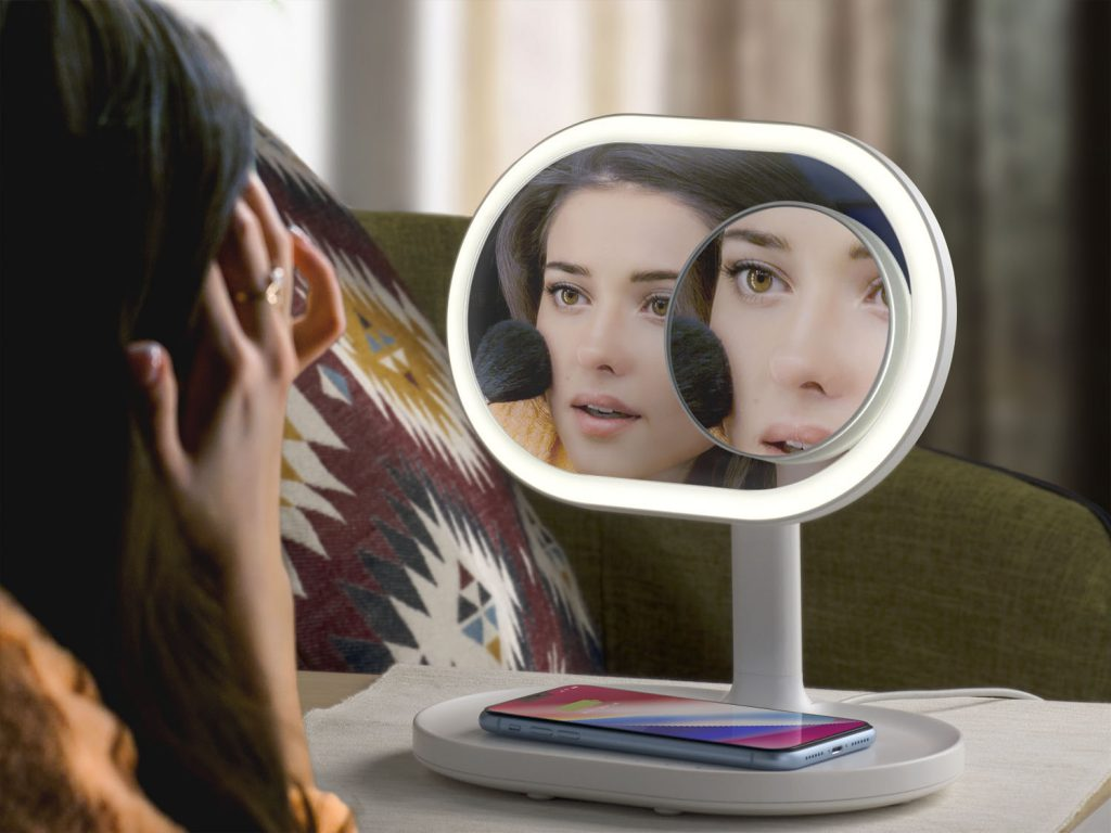 QLED mirror for hotels