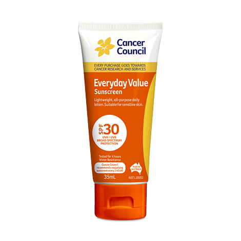 35ml Sunscreen from Cancer Council in the Everyday range