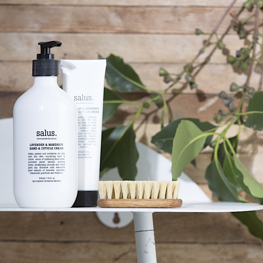 bath and body products made in Australia by Salus