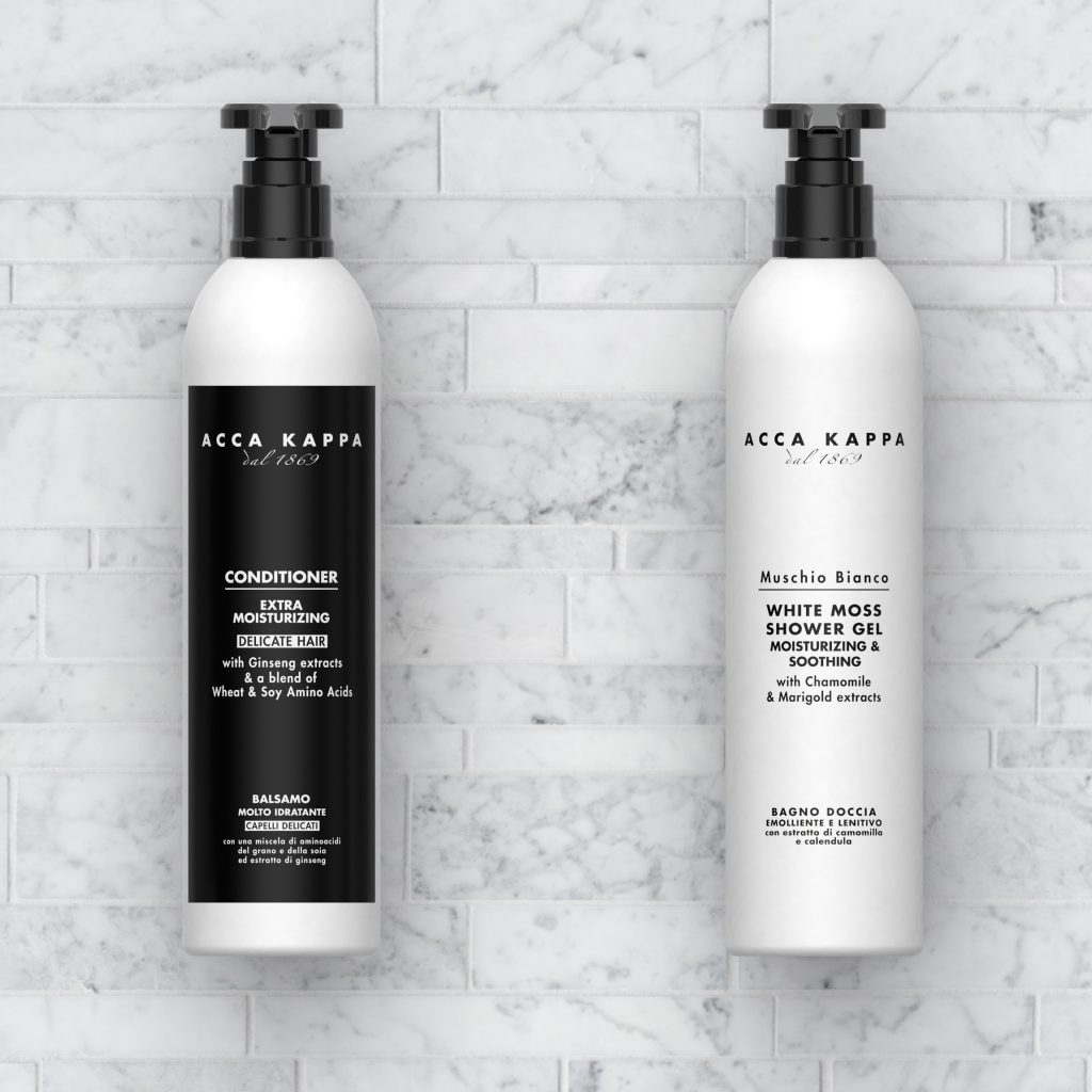 Acca Kappa fine toiletries from Guest Supply
