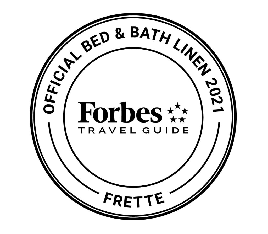 Forbes Travel Guide Official Bed and Bath Linen supplier Frette